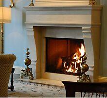 Lobby Fireplace       ^ by ctheworld