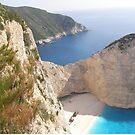 Shipwreck Zante Island Greece by mikequigley