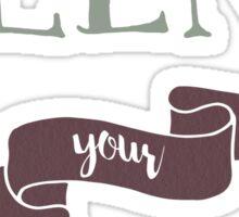 Blend Your Eyeshadow Sticker