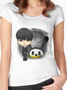 B.A.P - Matrix (Youngjae) Women's Fitted Scoop T-Shirt