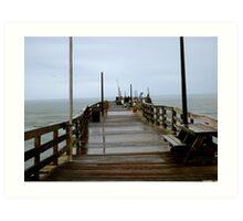Avon Pier, Cape Hatteras NC Art Print