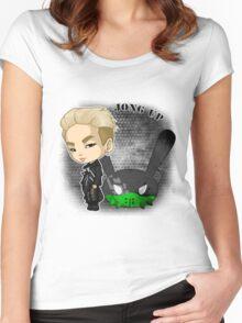 B.A.P - Matrix (Jongup) Women's Fitted Scoop T-Shirt
