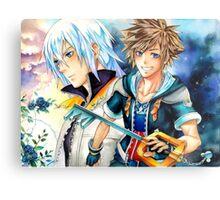 Riku & Sora (Kingdom Hearts) Metal Print