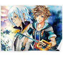 Riku & Sora (Kingdom Hearts) Poster