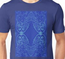 Blue Owl Mirror Unisex T-Shirt