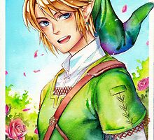 Link is happy to see you (Legend Of Zelda) by laovaan