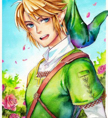 Link is happy to see you (Legend Of Zelda) Sticker