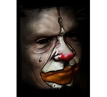 Tears of a clown Photographic Print