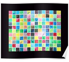 Grid Painting Poster