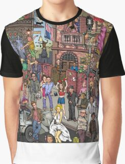 Movie stars Graphic T-Shirt