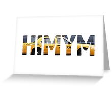 HIMYM - Taxi Greeting Card