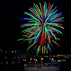 Hobart New Years Eve Fireworks by TonyCrehan