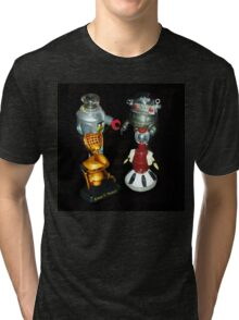 'Bots in the Bookcase Tri-blend T-Shirt