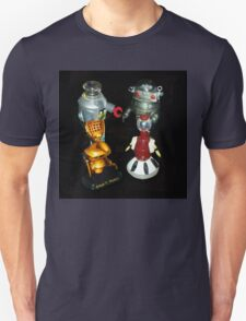 'Bots in the Bookcase Unisex T-Shirt