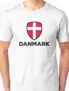 National flag of Denmark Unisex T-Shirt
