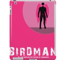 Birdman or (The Unexpected Virtue of Ignorance) iPad Case/Skin