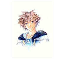 Happy Sora (Kingdom Hearts) Art Print