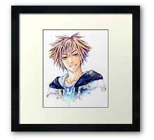 Happy Sora (Kingdom Hearts) Framed Print