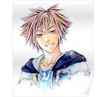 Happy Sora (Kingdom Hearts) Poster
