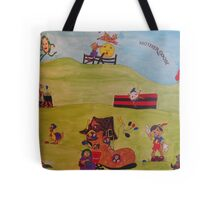 Mother Goose collage Tote Bag
