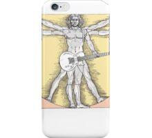 Vitruvian Rock iPhone Case/Skin
