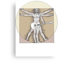 Vitruvian Rock Canvas Print