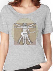 Vitruvian Rock Women's Relaxed Fit T-Shirt