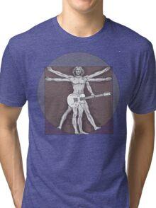 Vitruvian Rock Tri-blend T-Shirt