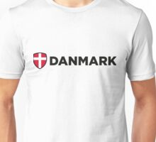 National flag of Denmark Unisex T-Shirt