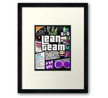 Lean Team - GTA Framed Print