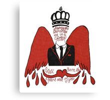 moriarty you should see me in a crown Canvas Print
