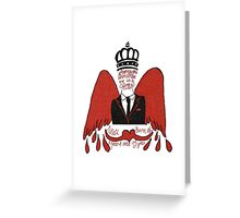 moriarty you should see me in a crown Greeting Card
