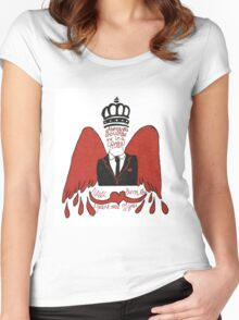 moriarty you should see me in a crown Women's Fitted Scoop T-Shirt