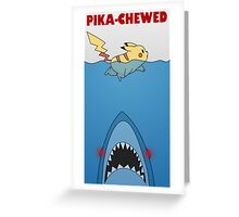 Pika-chewed Greeting Card