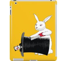 Rabbit vs. Magician iPad Case/Skin