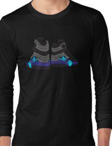 Aqua 8s Long Sleeve T-Shirt