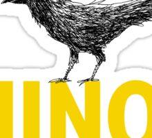 Ominous Crow Sticker