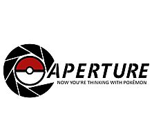 Now you're thinking with Pokemon Photographic Print