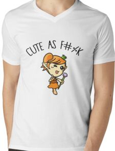 Princess cute AF Mens V-Neck T-Shirt