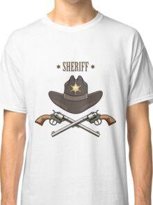 Sheriff Emblem Classic T-Shirt