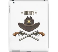 Sheriff Emblem iPad Case/Skin