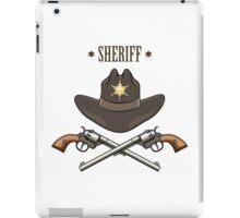Sheriff Emblem iPad Case/Skin