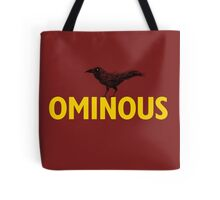 Ominous Crow Tote Bag