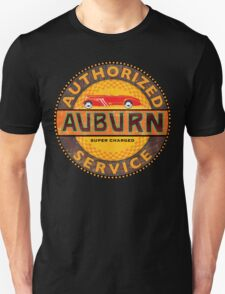 Auburn Vintage Cars Supercharged T-Shirt