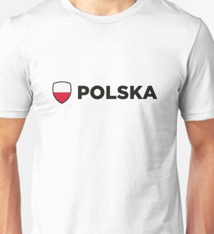 National Flag of Poland Unisex T-Shirt