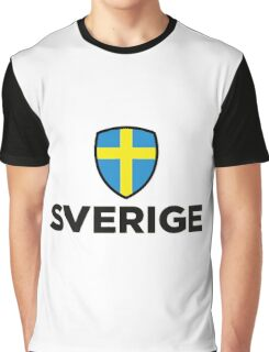National flag of Sweden Graphic T-Shirt