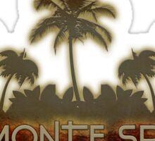 Altamonte Springs Florida palm tree design Sticker