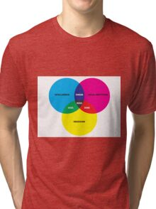 Nerd Venn Diagram Tri-blend T-Shirt