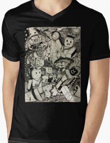 Chaos Fantasy Mens V-Neck T-Shirt