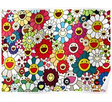 """The Happiness of """"Flower Power"""" Poster"""